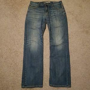 Men's BKE 32L blue jeans